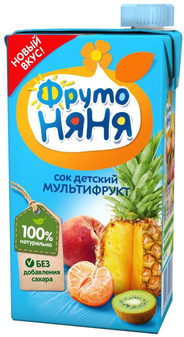 ФрутоНяня сок мультифруктовый, 0,5 л