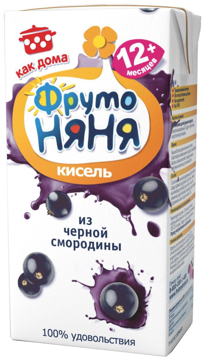 ФрутоНяня кисель из черной смородины с 12 месяцев, 0,2 л фрутоняня кисель из малины с 12 месяцев 0 2 л