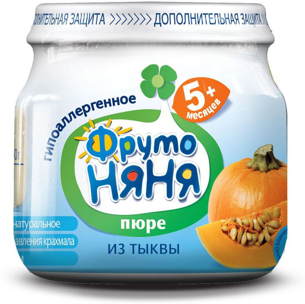ФрутоНяня пюре из тыквы с 5 месяцев, 80 гP078001Расширяем рационв составе только овощи и водабез консервантов, красителей, ароматизаторов, крахмала, соли