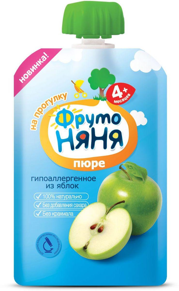 ФрутоНяня пюре из яблок с 4 месяцев, 90 г фрутоняня пюре из груш с 4 месяцев 100 г