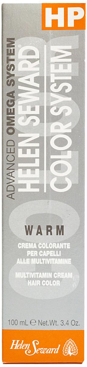 Helen Seward HP Color Золотистые оттенки (warm) Темный натуральный золотой блондин, 100 млC60.3Перманентная крем-краска — инновационная трехвалентная формула с мультивитаминами В5 и С для стойкого окрашивания, обеспечивает покрытие седины, блеск и мягкость волос.