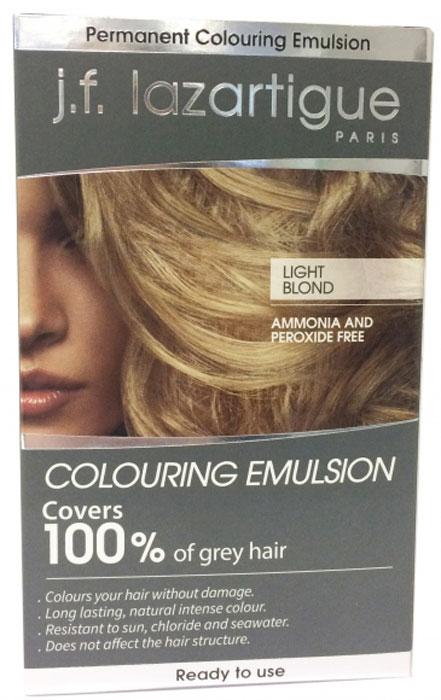 J.F.Lazartigue Оттеночная эмульсия для волос Светлый блондин 60 мл01717Благодаря оригинальной формуле полностью (на 100%) скрывает седину, длительное время сохраняет цвет, поддерживает здоровье и жизненную силу волос и сохраняет эти качества, несмотря на воздействие солнечных лучей, морской воды и прочих неблагоприятных экологических факторов. Не осветляет, не повреждает, а укрепляет волосы. Не содержит аммиака, перекиси водорода и парабенов. Не предназначена для окрашивания бровей и ресниц.Уважаемые клиенты! Обращаем ваше внимание на возможные изменения в дизайне упаковки. Качественные характеристики товара остаются неизменными. Поставка осуществляется в зависимости от наличия на складе.