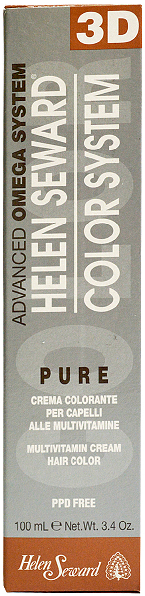 Helen Seward HP Color Натуральные оттенки 3D (холодные) Натуральный очень светлый блондин, 100 млC90.NПерманентная крем-краска — инновационная трехвалентная формула с мультивитаминами В5 и С для стойкого окрашивания, обеспечивает покрытие седины, блеск и мягкость волос.