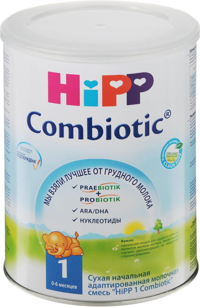 Hipp 1 Сombiotic смесь молочная, с рождения, 800 г молочная смесь hipp combiotic 2 гипоаллергенная с 6 мес 500 г