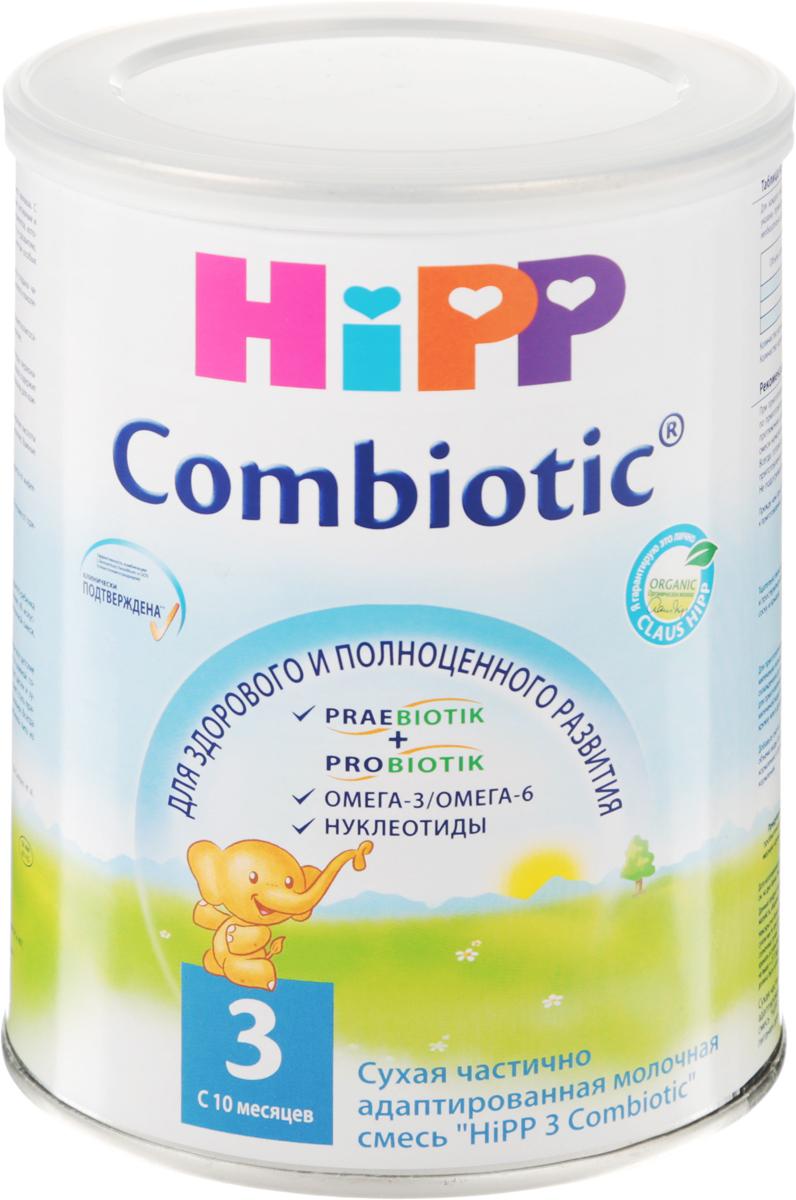 Hipp 3 Сombiotic смесь молочная, с 10 месяцев, 350 г молочная смесь hipp combiotic 2 гипоаллергенная с 6 мес 500 г