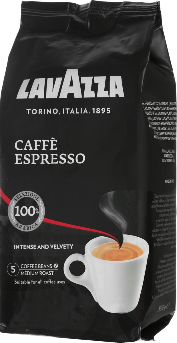 Lavazza Caffe Espresso кофе в зернах, 500 г