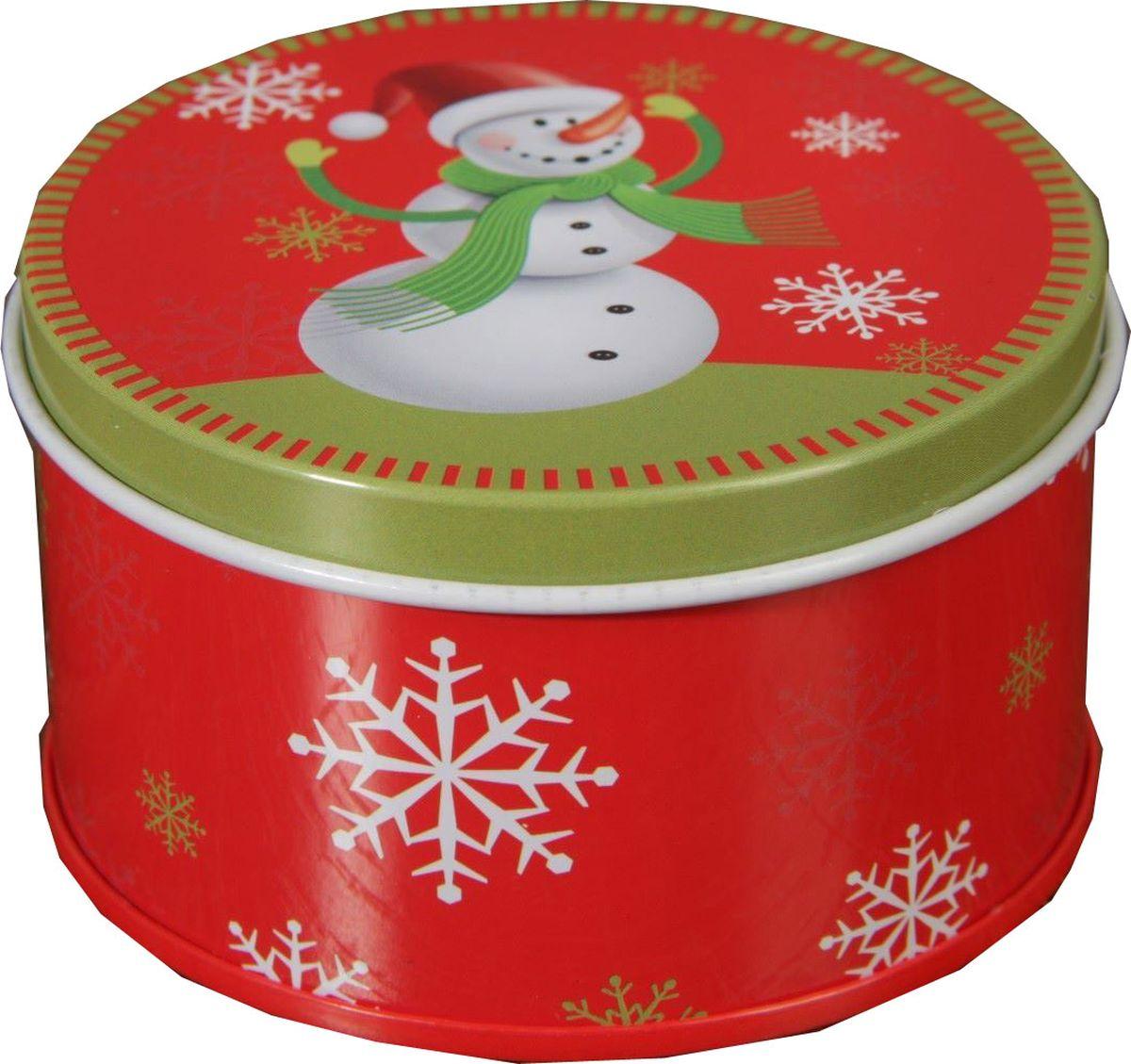 Шкатулка Sima-land Снеговик в зеленом шарфике, цвет: красный, 8 х 8 х 4,5 см2266168Шкатулка — это небольшой сувенир, а также оригинальная упаковка подарка. Она дополнит интерьер спальни, гостиной или прихожей. Изделие предназначено для хранения украшений: колец, браслетов, часов, цепочек, колье, сережек и прочих предметов.