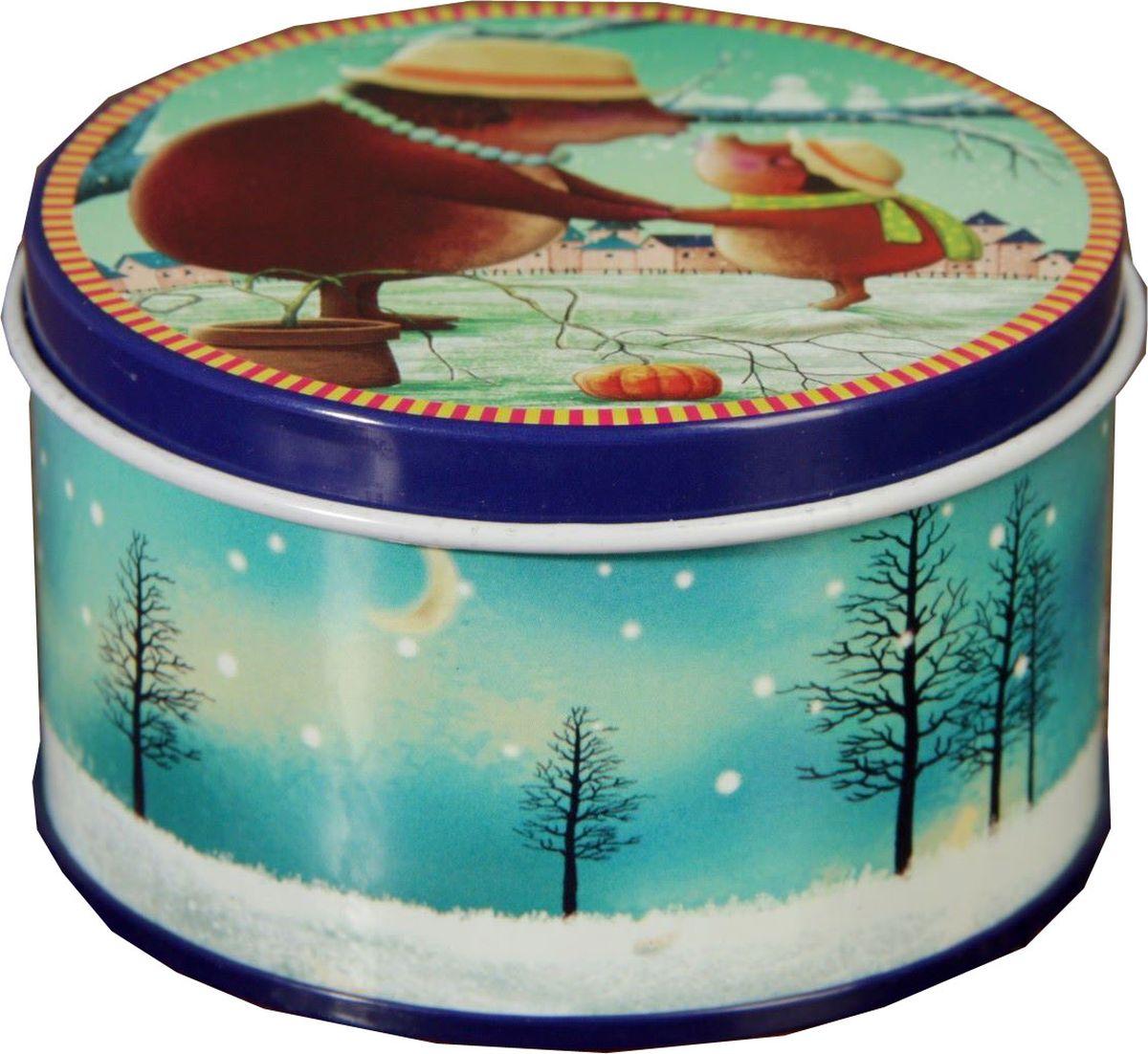Шкатулка Sima-land Кроты, цвет: голубой, 4,5 х 8 х 8 см2266170Шкатулка — это небольшой сувенир, а также оригинальная упаковка подарка. Она дополнит интерьер спальни, гостиной или прихожей. Изделие предназначено для хранения украшений: колец, браслетов, часов, цепочек, колье, сережек и прочих предметов.