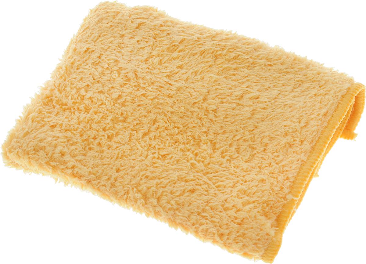 Салфетка для кухни Techpoint, супервпитывающая, цвет: желтый, 35 х 35 см. 80548054_желтыйСалфетка Techpoint выполнена из высококачественной микрофибры. Она обладает повышенной впитывающей способностью, что делает ее идеальным средством для быстрого и качественного удаления пролитой жидкости, для ухода за посудой и влажными поверхностями. Разработана для повышенной эффективности использования без дополнительных моющих средств. Подходит для сухой и влажной уборки помещения. Гипоаллергенный материал. Стирается при температуре не выше 60 градусов, без использования кондиционера или смягчителя воды.