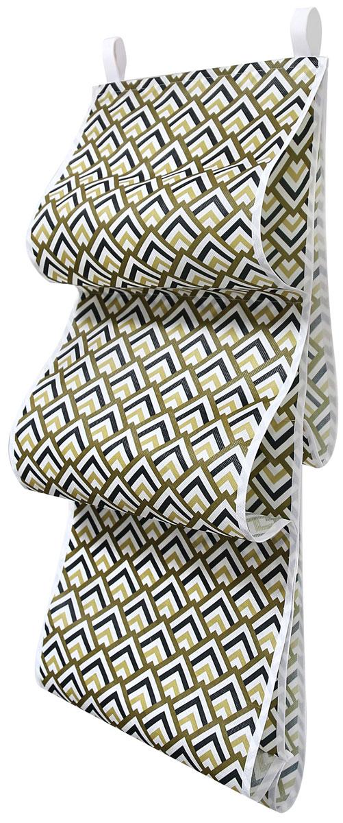 Органайзер для хранения сумок Eva Черное золото, подвесной, 36 x 80 смЯ4513Органайзер Eva - полка для сумок, которая поможет сэкономить вам место в шкафу и принесет максимальную пользу. Изделие выполнено из спанбонда. Поможет сохранить качество и внешний вид сумок. Позволяет удобно и эстетично организовать хранение сумок, клатчей и кошельков.