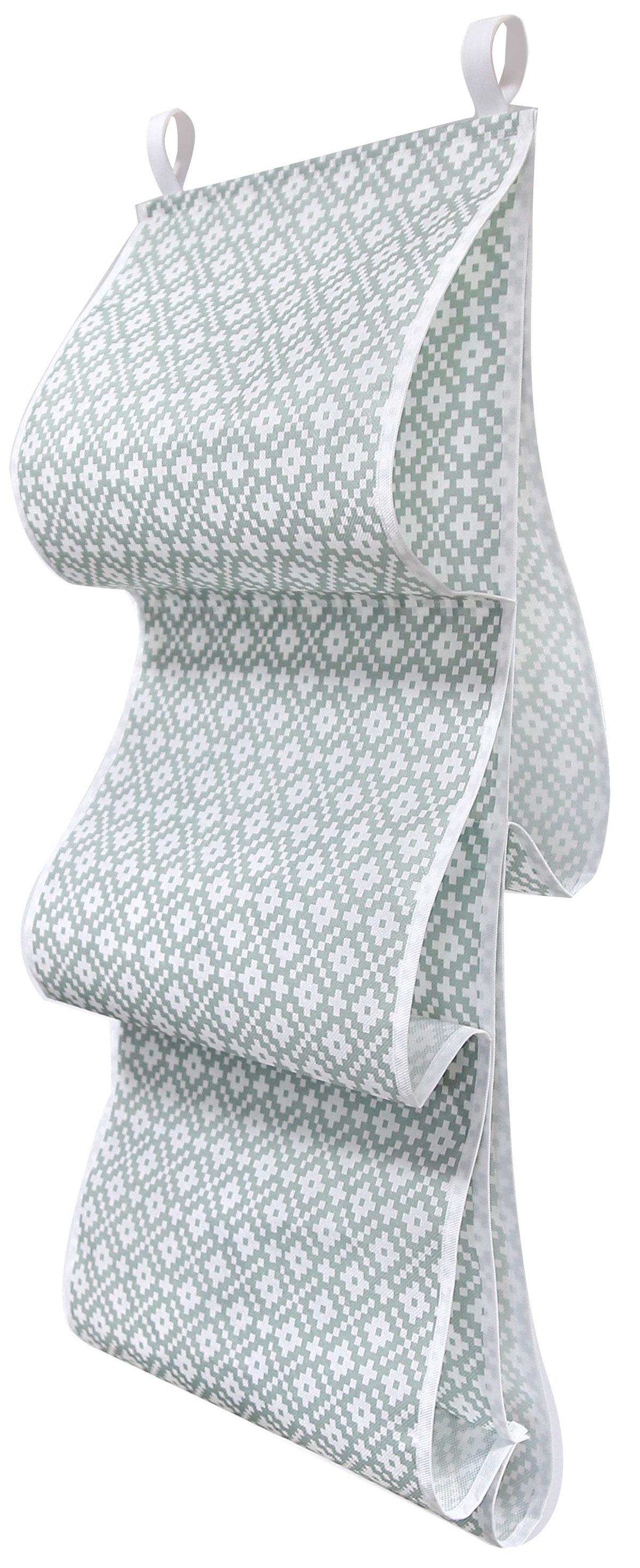 Органайзер для хранения сумок Ева Этника, подвесной, 36 x 80 смЯ4514Органайзер Eva - полка для сумок, которая поможет сэкономить вам место в шкафу и принесет максимальную пользу. Изделие выполнено из спанбонда. Поможет сохранить качество и внешний вид сумок. Позволяет удобно и эстетично организовать хранение сумок, клатчей и кошельков.