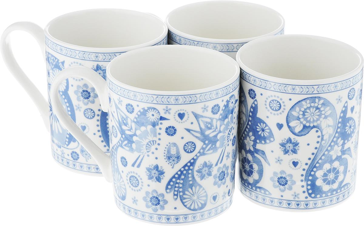 Набор кружек Churchill, цвет: белый, голубой, 250 мл, 4 штPENZ00451Набор Churchill состоит из четырех кружек, выполненных из высококачественного фарфора. Внешние стенки изделий оформлены красивым рисунком. Такие цветные яркие кружки станут отличным приобретением для кухни, они дополнят сервировку стола к чаепитию и согреют вас горячим напитком. Из них пить ваши любимые напитки будет еще вкуснее. Диаметр кружек (по верхнему краю): 7,5 см. Высота кружек: 8,5 см.