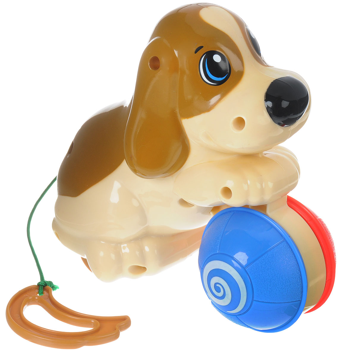 Keenway Развивающая игрушка Веселый щенок паровозик веселый keenway с паззлами