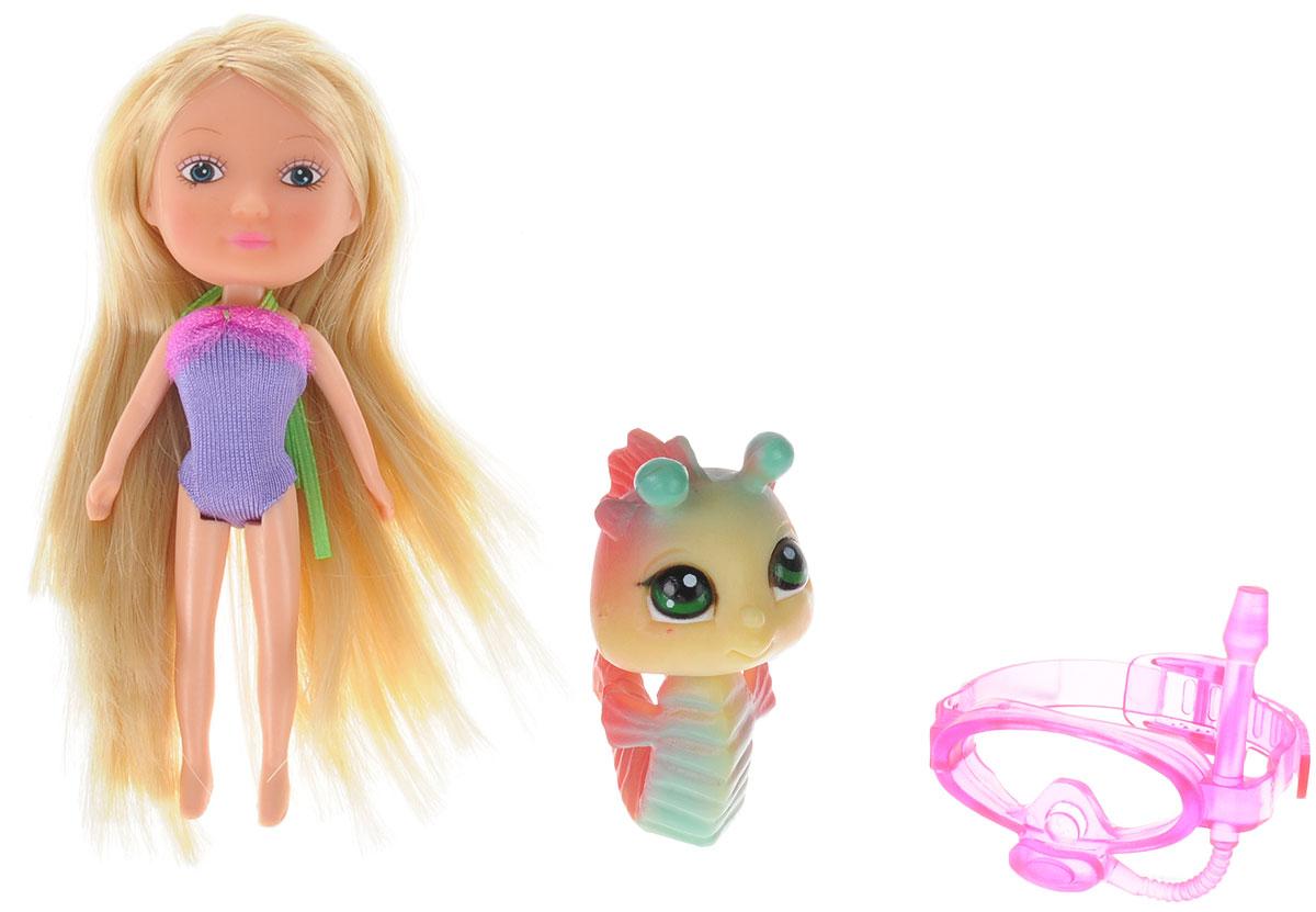 Veld-Co Мини-кукла Mona с морским коньком veld co мини кукла mona с черепахой
