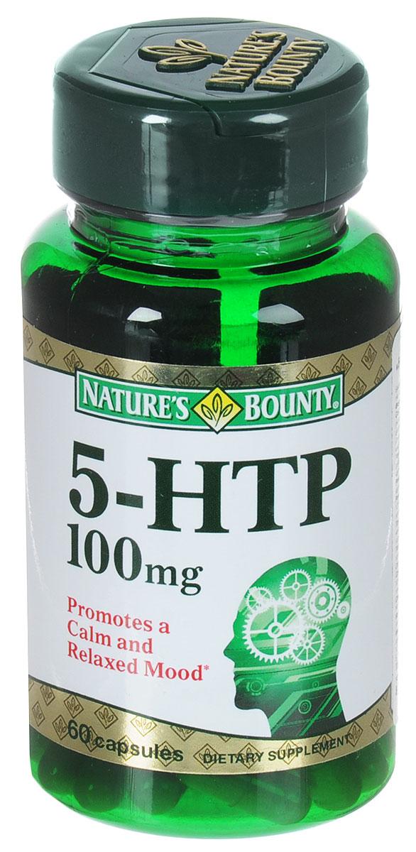 Витамины Natures Bounty 5-гидрокситриптофан (5-HTP), 60 капсул223555Витамины Natures Bounty 5-гидрокситриптофан (5-HTP) рекомендуются в качестве биологически активной добавки к пище, содержащей 5-гидрокситриптофан и кальций. 5-гидрокситриптофан (5-НТР) - это производное натуральной аминокислоты триптофан, являющееся предшественником серотонина в организме человека. Недостаток серотонина проявляется депрессивным настроением, подавленностью, бессонницей, расстройствами сна, головными болями, повышенным аппетитом. Триптофаном богаты такие продукты, как творог, молоко, яйца, говядина. К сожалению, рацион современного человека не всегда богат данными продуктами, а нарушение процессов пищеварения и стрессы ведут к ухудшению усвоения питательных веществ и, в частности, триптофана. Natures Bounty 5-гидрокситриптофан (5-HTP) - это уже готовый метаболит триптофана, способствующий поддержке уровня серотонина, а значит, и повышению настроения, нормализации структуры сна, снижению аппетита. Ощутите прилив оптимизма и отличного настроения. Состав: орто-фосфат кальция 2-замещенный (носитель), экстракт грифонии, желатин, растительная целлюлоза (носитель), диоксид кремния (антислеживающий агент), магниевая соль стеариновой кислоты (антислеживающий агент). Противопоказания: индивидуальная непереносимость компонентов, беременность, кормление грудью. Товар не является лекарственным средством. Товар не рекомендован для лиц младше 18 лет. Могут быть противопоказания, следует предварительно проконсультироваться со специалистом. Товар сертифицирован.