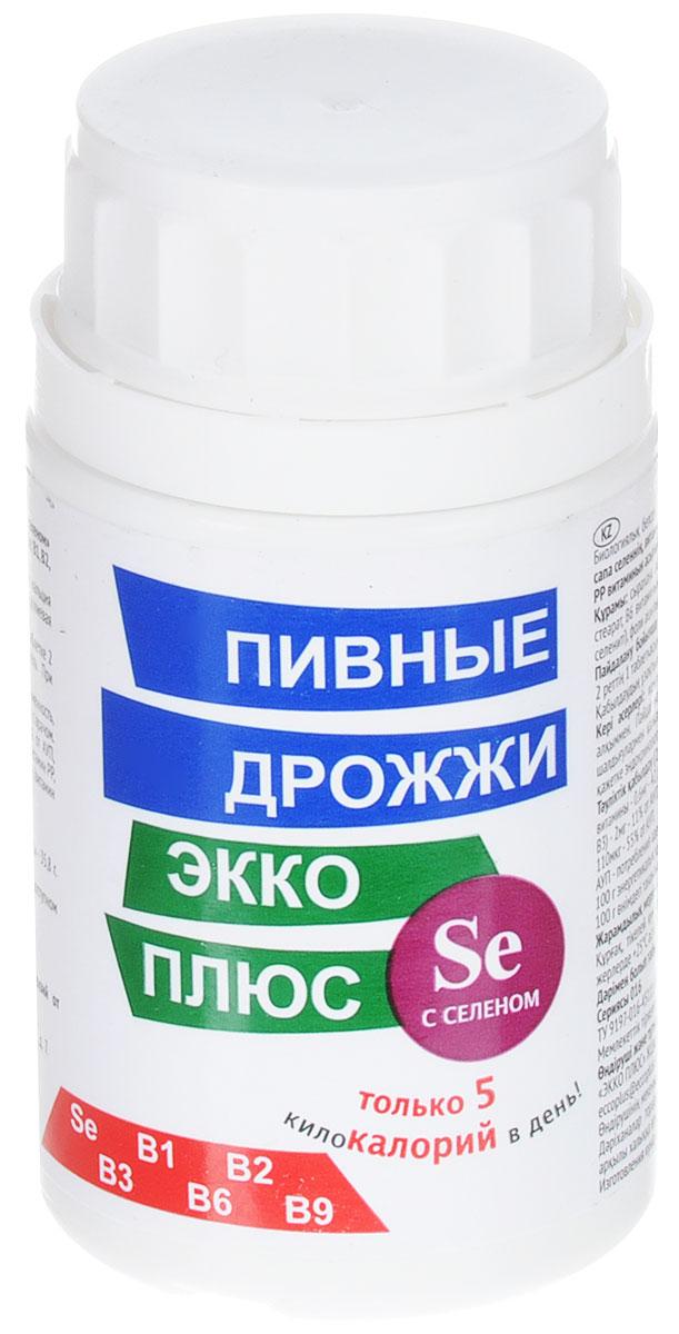 Пивные дрожжи Экко Плюс, с селеном, 100 таблеток13892Пивные дрожжи Экко Плюс рекомендованы в качестве биологически активной добавки к пище - дополнительного источника селена в органической форме и витаминов: В1, В2, В6, ниацина, фолиевой кислоты, содержащей витамин РР. Селен в органической форме обладает антиоксидантными свойствами, оказывает защитное действие на иммунную систему, предотвращая образование свободных радикалов, повреждающих ткани организма. Селен повышает образование антител при инфекционных заболеваниях, способствует нормализации деятельности сердечно-сосудистой системы, печени, поджелудочной железы, участвует в работе щитовидной железы, регулирующей обменные процессы в организме человека, замедляя процессы старения. Состав: пивные дрожжи сухие, мкц (Е460), никотиновая кислота, стеарат кальция (Е470), витамин В6, витамин В2, витамин В1, Селовита С (селенит натрия), фолиевая кислота. Противопоказания: индивидуальная непереносимость компонентов, беременность, кормление грудью. Товар не является лекарственным средством. Товар не рекомендован для лиц младше 18 лет. Могут быть противопоказания, следует предварительно проконсультироваться со специалистом. Товар сертифицирован.