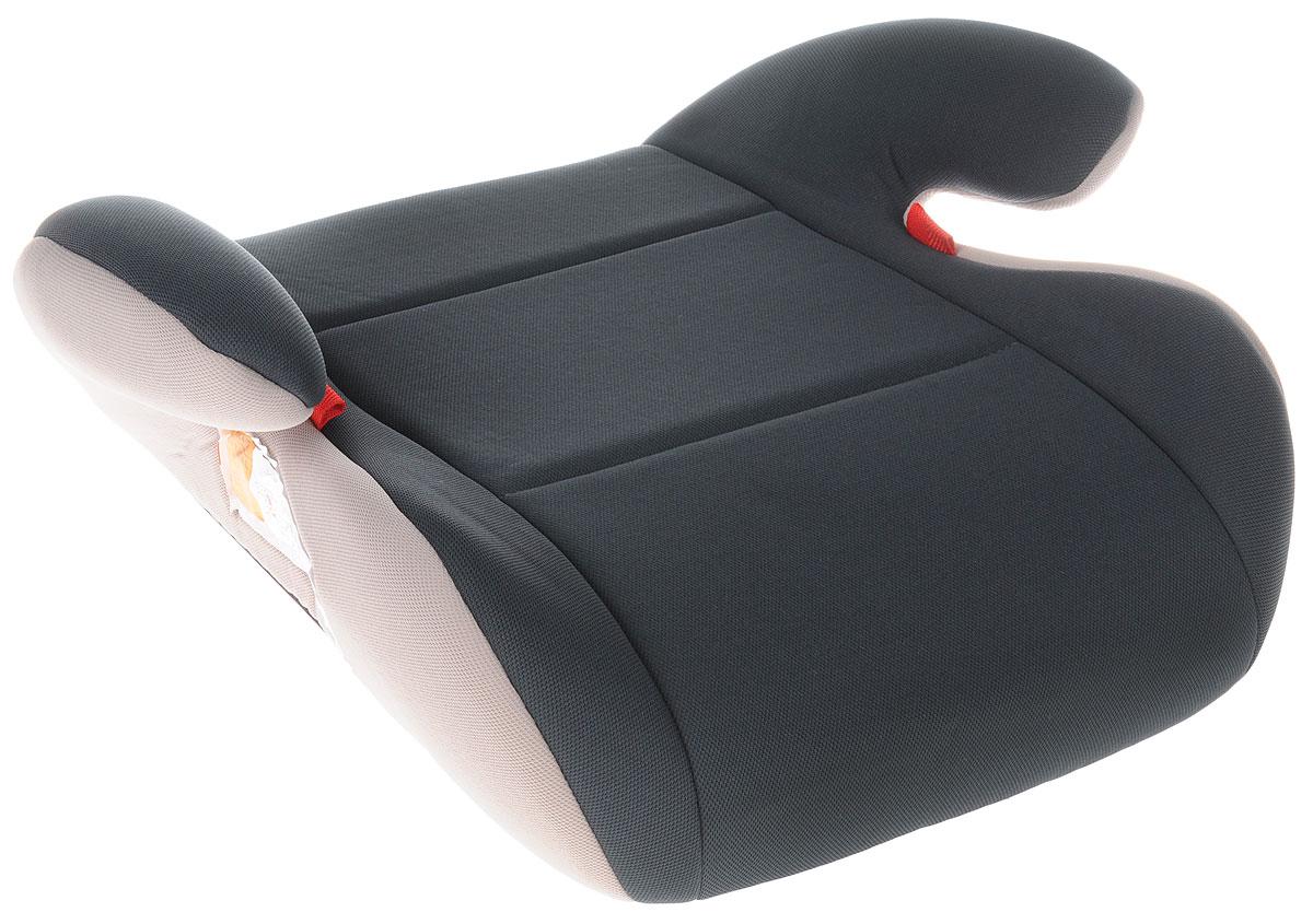 AIBAO Бустер от 15 до 36 кг цвет серыйYB804A GreyЧехол автокресла AIBAO изготовлен из 100% полиэстера, надевается сверху на каркас изделия. Его можно снять и постирать.Бустер предназначен для перевозки в автомобиле детей весом от 15 до 36 кг. Бустер обеспечивает правильную посадку ребенка в машине при использовании стандартного ремня безопасности. Бустер должен быть установлен только лицом по ходу движения с использованием трехточечного автомобильного ремня безопасности.В конце поездки автокресло можно с легкостью и быстро убрать в багажник машины.