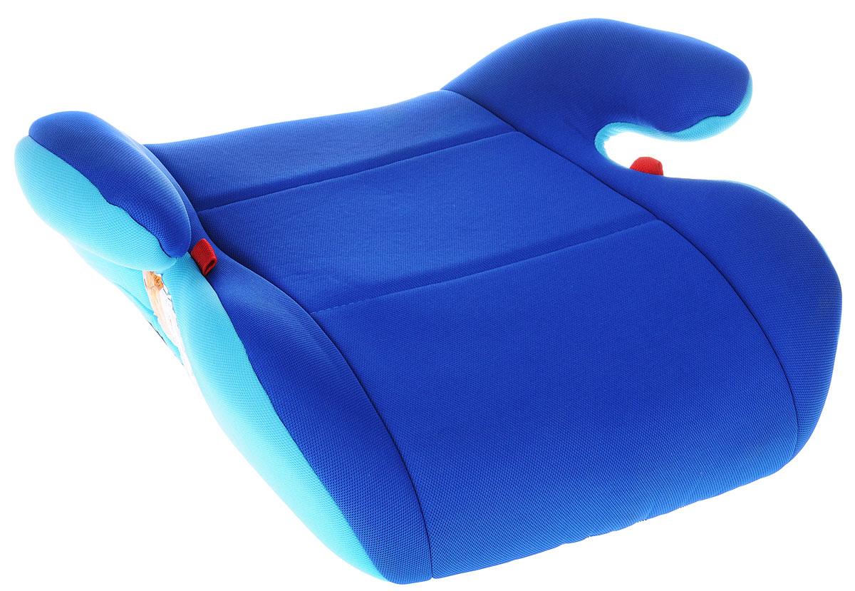 AIBAO Бустер от 15 до 36 кг цвет голубойYB804A BlueЧехол автокресла AIBAO изготовлен из 100% полиэстера, надевается сверху на каркас изделия. Его можно снять и постирать.Бустер предназначен для перевозки в автомобиле детей весом от 15 до 36 кг. Бустер обеспечивает правильную посадку ребенка в машине при использовании стандартного ремня безопасности. Бустер должен быть установлен только лицом по ходу движения с использованием трехточечного автомобильного ремня безопасности.В конце поездки автокресло можно с легкостью и быстро убрать в багажник машины.
