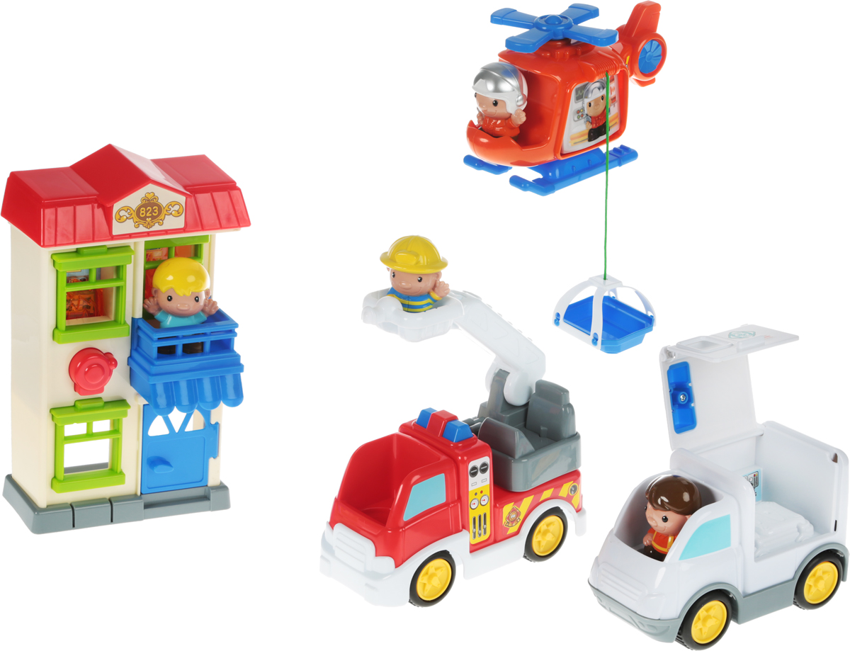 Keenway Игровой набор Спасатели 911