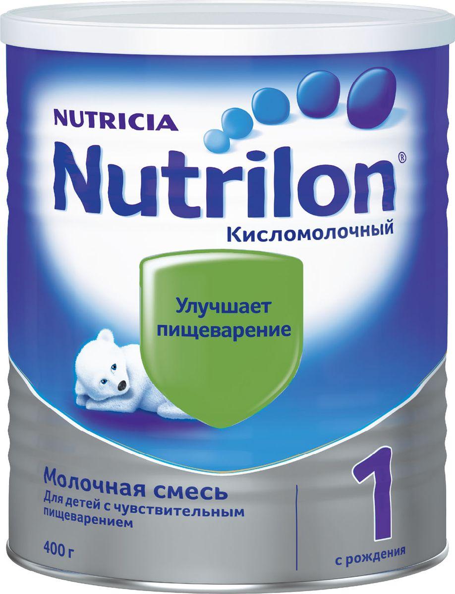 Nutrilon Кисломолочный 1 специальная молочная смесь, с рождения, 400 г молочная смесь nutrilon 1 premium с рождения 350 г