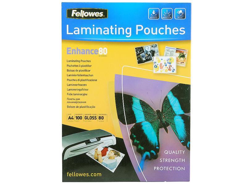FellowesА4 FS-53061 пленка для ламинирования, 80 мкм (100 шт)