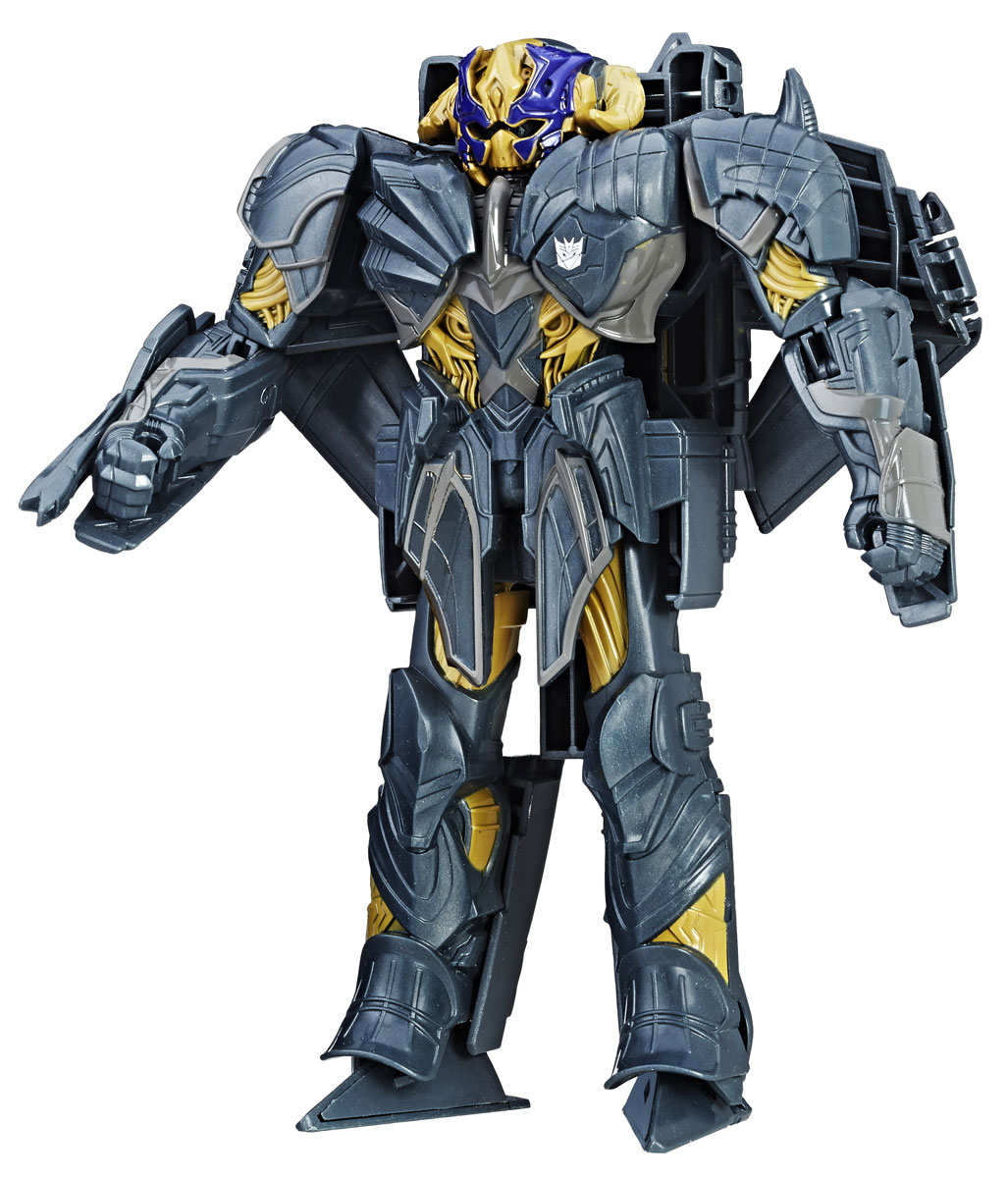 Transformers Трансформер The Last Knight Megatron Turbo Changer transformers трансформер combiner force bumblebee