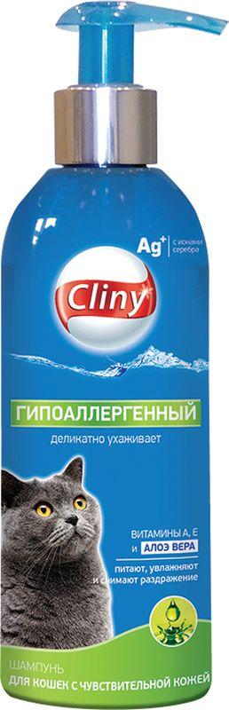 Шампунь Cliny Гипоаллергенный для кошек, 200 мл