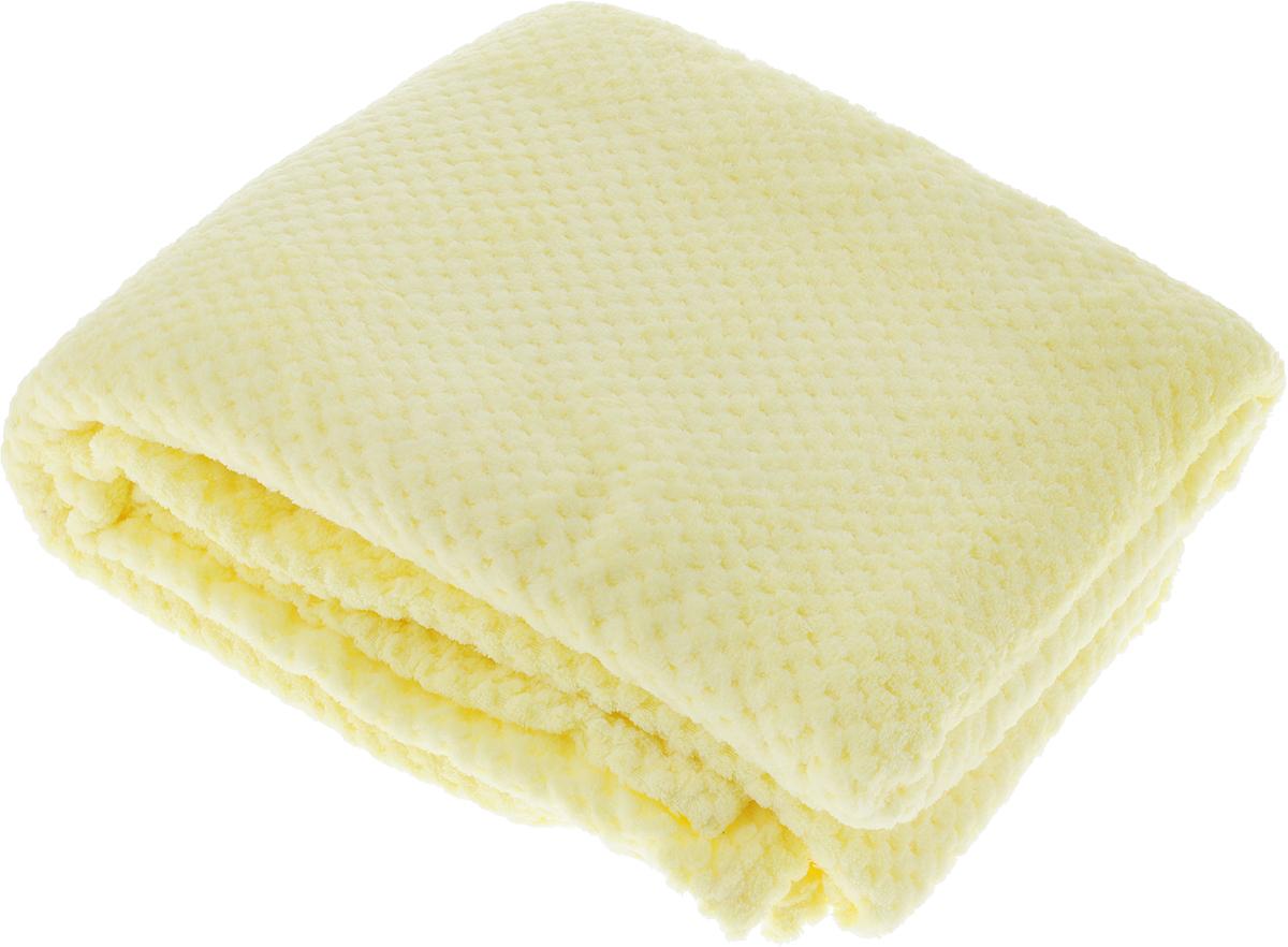 Покрывало Guten Morgen Мимоза, цвет: желтый, 150 х 200 смПКМим-150-200_желтыйПокрывало Guten Morgen Мимоза, выполненное из корал-флиса (100% полиэстера), гармонично впишется в интерьер вашего дома и создаст атмосферу уюта и комфорта. Изделие имеет мягкую и приятную текстуру, глубокий насыщенный цвет и характеризуется высокими показателями плотности и объема.Такое покрывало согреет в прохладную погоду и будет превосходно дополнять интерьер вашей спальни.