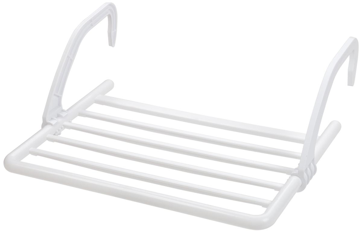 Сушилка Berossi, навесная, на батарею, цвет: снежно-белый, 53 х 52,9 х 18,8 смАС 22701000Навесная сушилка для белья Berossi подходит для всех типов масляных радиаторов и батарей центрального отопления; может крепиться также на ванны и балконы. Суммарная рабочая поверхность составляет 3 метра. Удобная металлическая конструкция со складными пластиковыми ручками выдерживает вес до 5 кг белья и занимает минимум места в сложенном состоянии. Изделие непритязательно в уходе, устойчиво к воздействию влажности и температуры