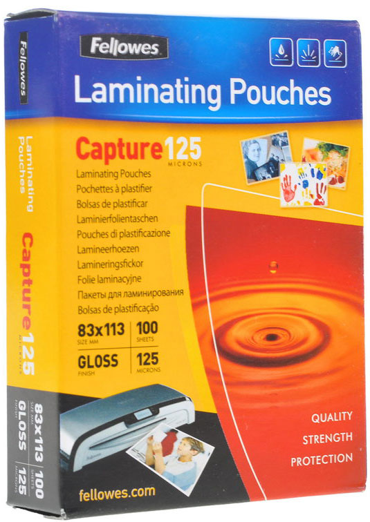 Fellowes A5 FS-53073пленка для ламинирования, 125 мкм (100 шт)