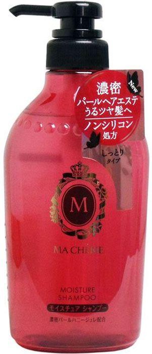Shiseido Ma Cherie Бессиликоновый увлажняющий шампунь для волос с цветочно-фруктовым ароматом, 450 мл447633Мягкий состав шампуня хорошо увлажняет волосы, не перегружая их. Шампунь подходит для ежедневного применения, не сушит концы, делает волосы струящимися, придаёт видимый блеск. Используется для усиленного увлажнения пересушенных потускневших волос, нуждающихся в специальном уходе, наполняет Ваши волосы полезными компонентами. Формула шампуня MA CHERIE восстанавливает структуру волос, делает их легкими и шелковистыми. В результате применения шампуня у Вас упругие и эластичные волосы.