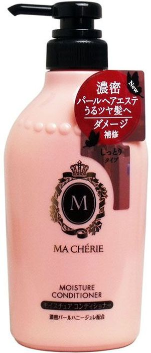 Shiseido Ma Cherie Увлажняющий кондиционер для волос с цветочно-фруктовым ароматом, 450 мл447664Мягкий состав кондиционера хорошо увлажняет волосы, не перегружая их. Кондиционер подходит для ежедневного применения, не сушит концы, делает волосы струящимися, придаёт видимый блеск. Используется для усиленного увлажнения пересушенных потускневших волос, нуждающихся в специальном уходе, наполняет Ваши волосы полезными компонентами. Формула кондиционера MA CHERIE восстанавливает структуру волос, делает их легкими и шелковистыми. В результате применения кондиционера у Вас упругие и эластичные волосы.