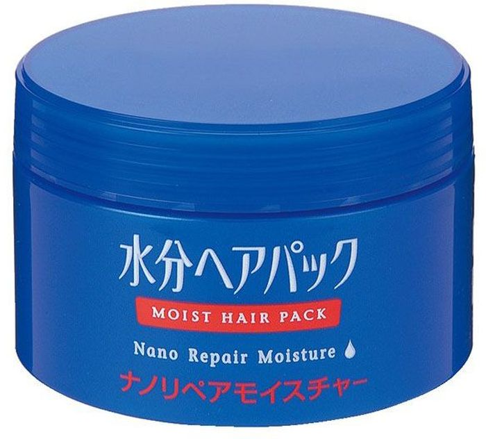 Shiseido Moist Hair Pack Увлажняющий нано-бальзам для поврежденных волос, 100 г832460Уход и восстановление поврежденных волос на нано-уровне! Особые ингредиенты нано-бальзама глубоко проникают в волосяной стержень, предотвращает дальнейшее повреждение волос и восстанавливает струкутуру волос, тщательно напитывая их влагой. Применяйте средство перед сном и просыпайтесь со здоровыми и гладкими волосами. Избавляет волосы от неприятных запахов и придает им чистый цветочный аромат.