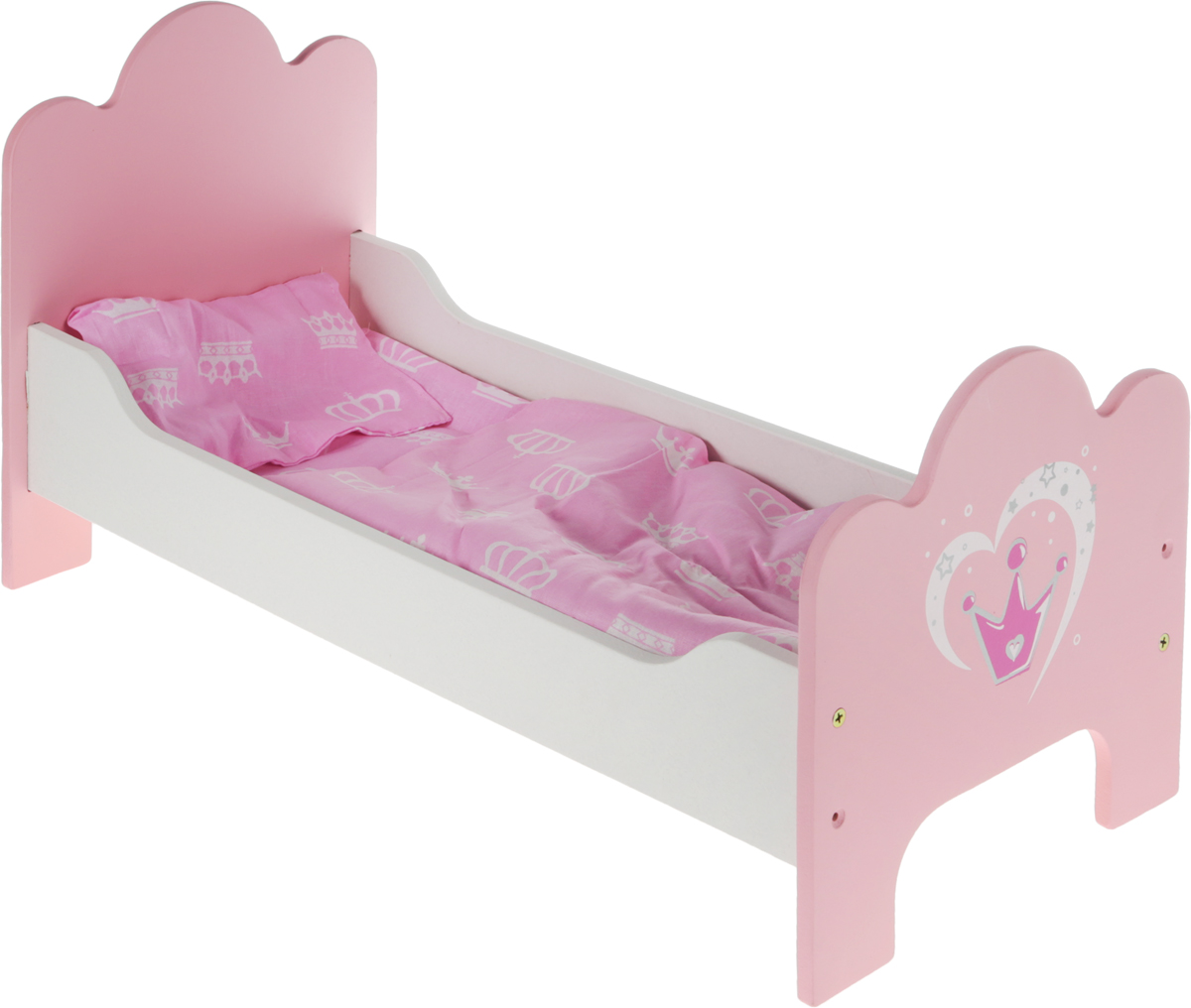 Mary Poppins Кроватка для куклы Корона игрушка mary poppins вика покорми меня 451101