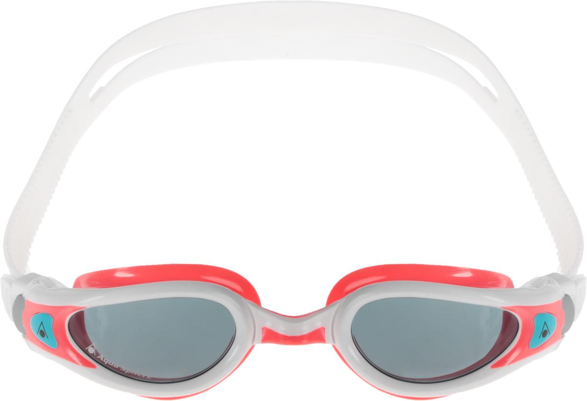 Очки для плавания Aqua Sphere Kaiman Exo Lady, цвет: белый, розовый. TN 175720TN 175720_белый, розовыйМодные и стильные очки Aqua Sphere Kaiman Exo Lady идеально подходят для плавания в бассейне или открытой воде. Особая технология изогнутых линз позволяет обеспечить превосходный обзор в 180°, не искажая при этом изображение. Очки дают 100% защиту от ультрафиолетового излучения. Специальное покрытие препятствует запотеванию стекол. Новая технология каркаса EXO-core bi-material обеспечивает максимальную стабильность и комфорт.Материал: софтерил, plexisol.