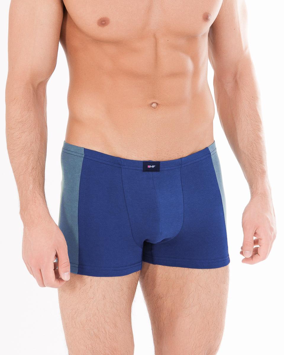 Трусы-боксеры мужские Mark Formelle, цвет: голубой, синий. 411128_16877. Размер 46 трусы боксеры diesel 00sj54 0kapm 912