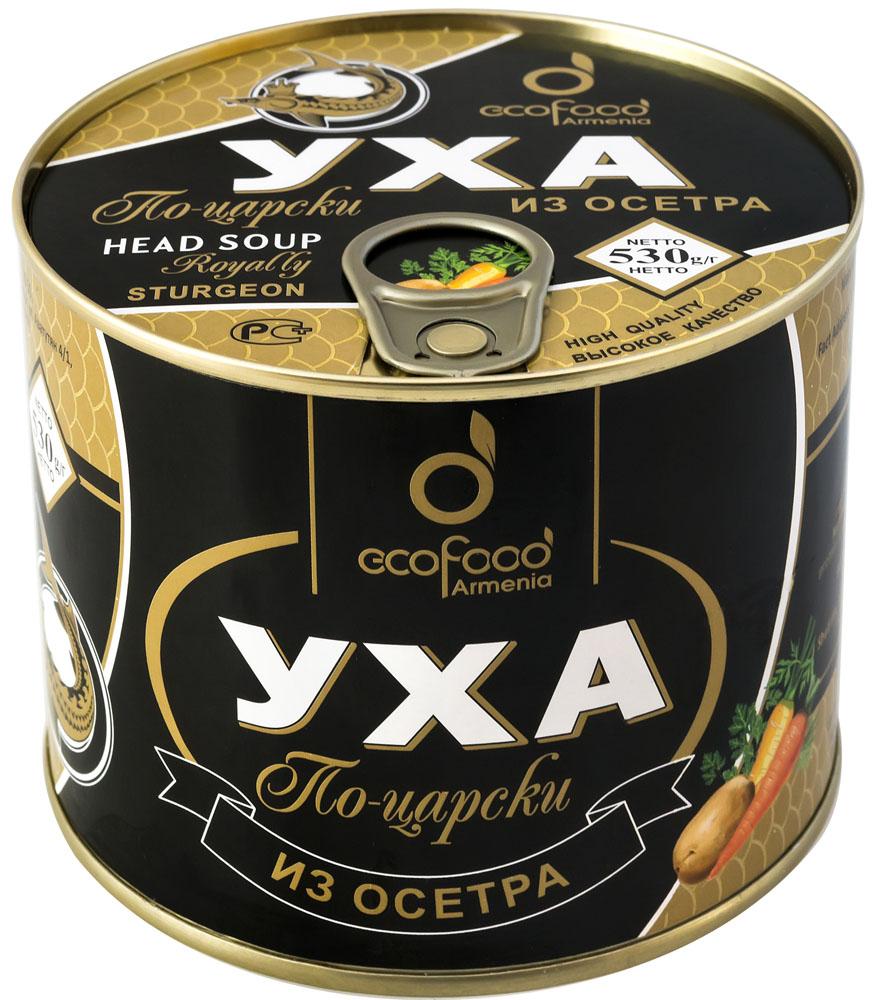 Ecofood уха по-царски из осетра, 530 г драже boffo миндаль в мятном шоколаде 8 штук по 160 г