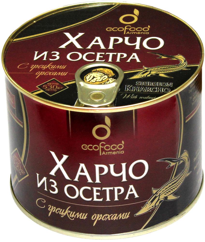 Ecofood харчо из осетра с грецкими орехами, 530 г ecofood уха по царски из осетра 530 г