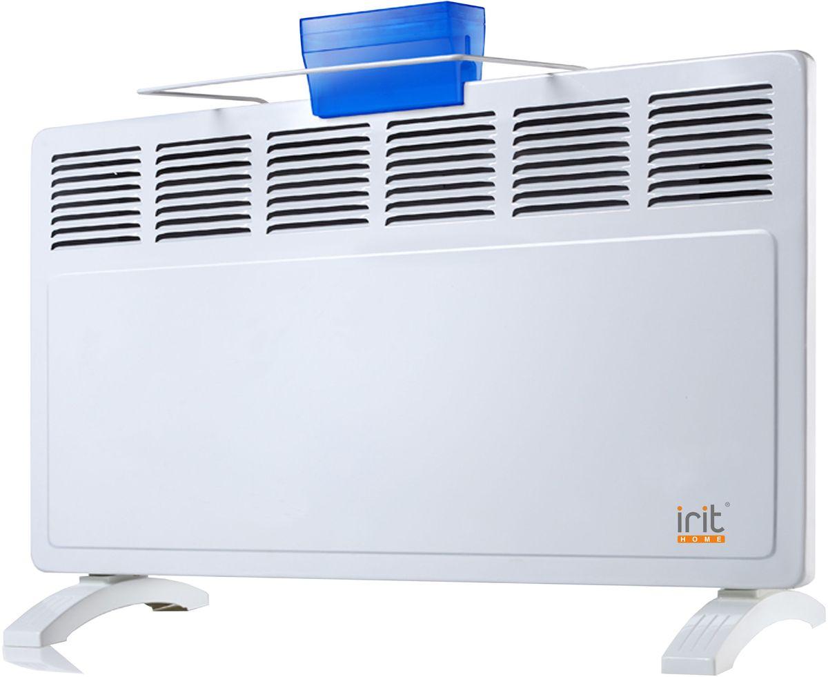 Irit IR-6208 конвектор электрическийIR-6208Конвектор Irit IR-6208 отлично подойдет для дома и дачи. Устройство работает по принципу естественной конвекции. Холодный воздух, проходя через конвектор и его нагревательный элемент, нагревается и выходит сквозь решетки-жалюзи, незамедлительно начиная обогревать помещение. Имеет возможность настенной и напольной установки. Сушилка для белья и увлажнитель в комплекте.