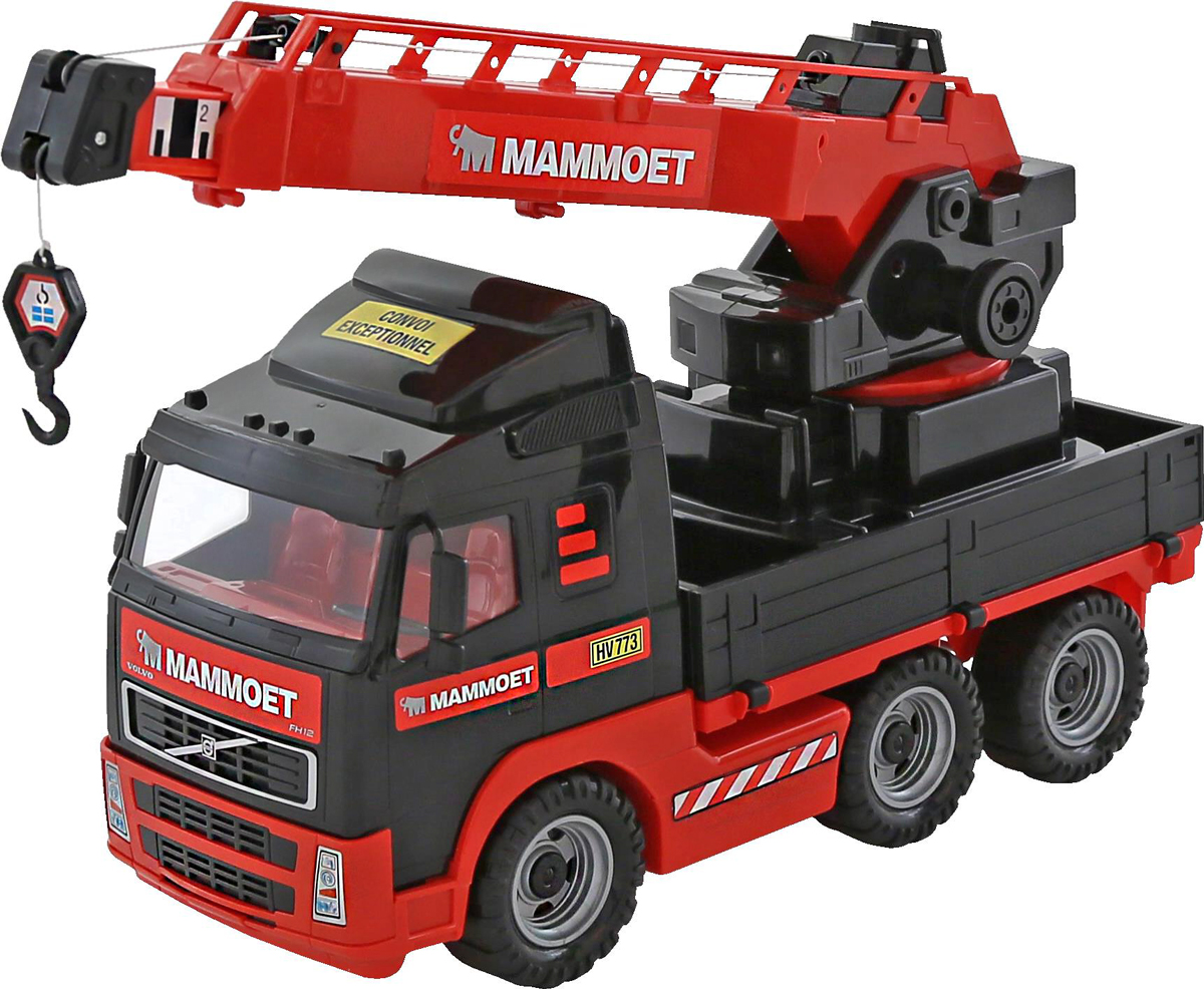 Полесье Автокран Mammoet Volvo 203-01 полесье полесье игровой набор mammoet volvo автомобиль трейлер и трактор погрузчик