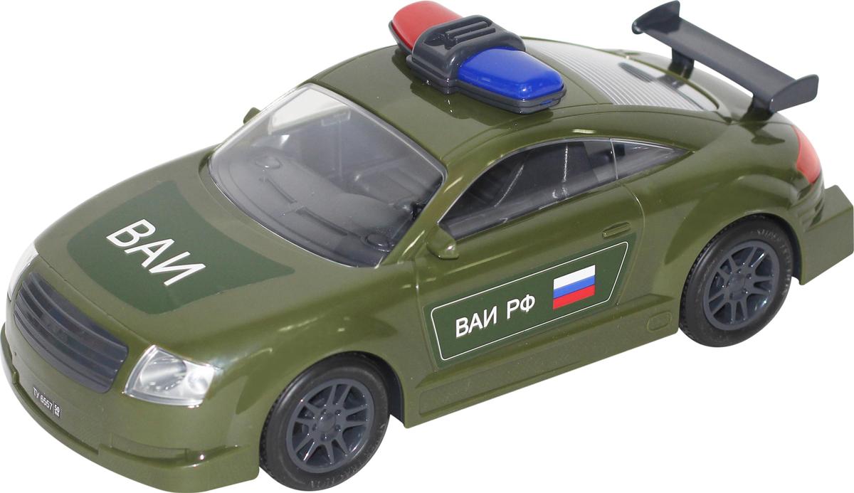 Полесье Автомобиль инерционный Военная автоинспекция машинки autotime машина uaz 31514 ваи