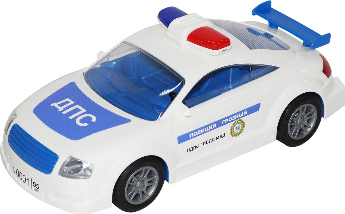 Полесье Автомобиль инерционный ДПС Грозный салон в москве мерседесс как автомобиль
