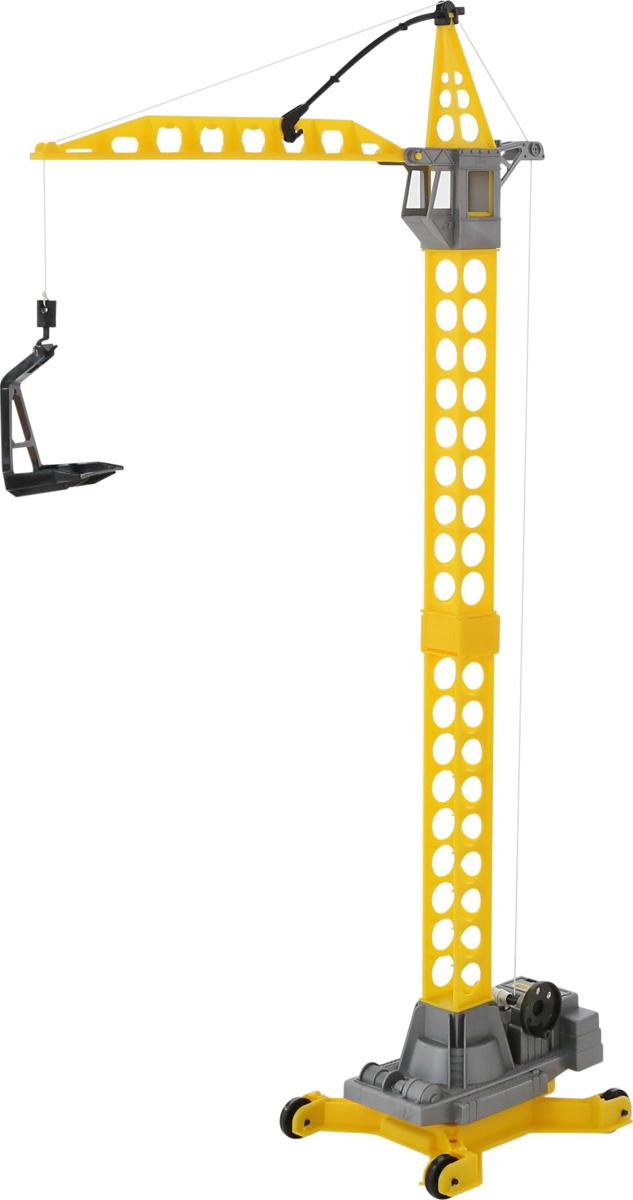 Полесье Башенный кран Агат 57167 автомобиль кран полесье mammoet с поворотной платформой 56771