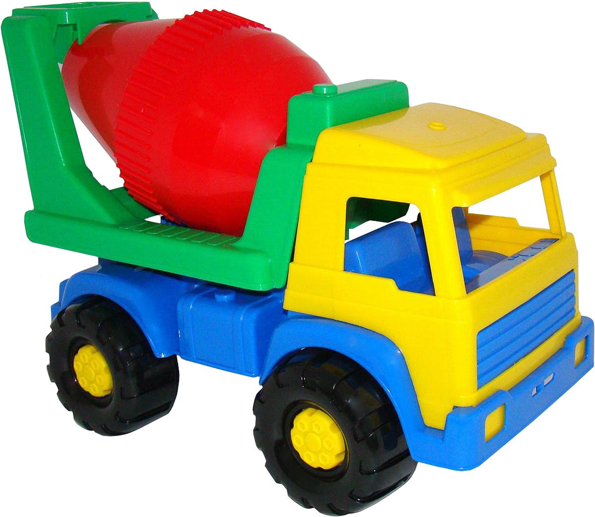 грузовики полесье игрушки Полесье Бетоновоз Panther