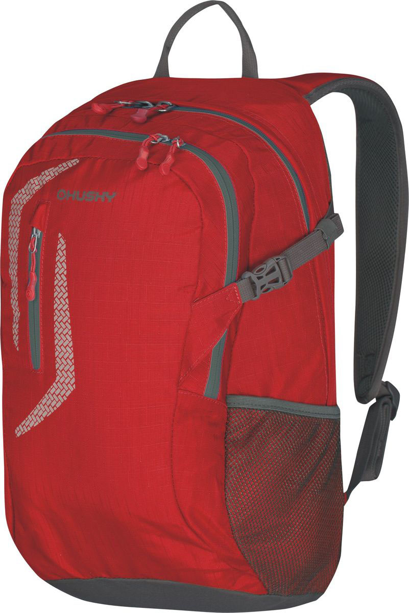 Рюкзак городской Husky Malin 25, цвет: красный, 25 лУТ-000057355Рюкзак городской Husky Malin оснащен карманом для ноутбука и внутренним органайзером. Внутреннее отделение рюкзака разделено перегородкой на две части. Спинка рюкзака и лямки повторяют анатомическую форму спины, равномерно распределяя вес на плечи. Рюкзак сделан из материала 420D Nylon RipStop с водоотталкивающей пропиткой, его легко отчистить от любых загрязнений. Особенности: водонепроницаемая ткань;система вентиляции спины AMS;отделение для ноутбука внутренний органайзер;боковые карманы-сетки;светоотражающие элементы.