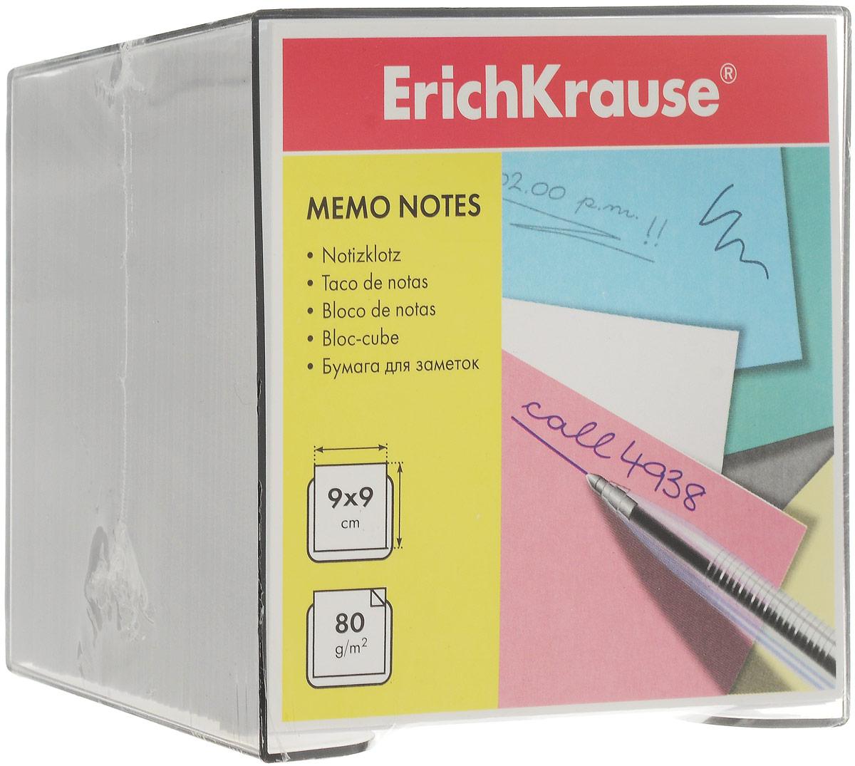 Бумага для заметок Erich Krause, в боксе, цвет: белый, 9 см х 9 см х 9 см4458Бумага для заметок Erich Krause в боксе - незаменимая вещь, которая помогает организовать пространство на вашем рабочем столе. Лаконичный дизайн и удобство в использовании сделают бумагу для заметок вашим надежным помощником.Для удобства хранения бумаги предусмотрен прозрачный пластиковый бокс, благодаря которому листы не растеряются и сохранят аккуратный вид на всем протяжении использования.Блок содержит бумагу белого цвета. Характеристики:Материал: бумага, пластик. Размер листа: 9 см x 9 см. Размер блока: 9 см x 9 см x 9 см. Размер бокса: 9,5 см x 9,5 см x 8,5 см.