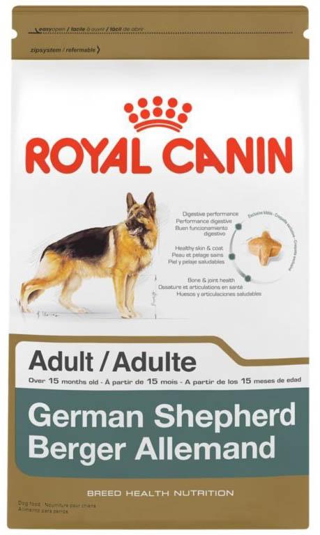 Корм сухой Royal Canin German Shepherd 24, для немецких овчарок старше 15 месяцев, 3 кг корм сухой royal canin german shepherd junior для щенков собак породы немецкая овчарка до 15 месяцев 12 кг