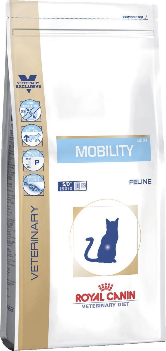 Корм сухой Royal Canin Vet Mobility MC 28, для кошек при заболеваниях опорно-двигательного аппарата, 500 г сухой корм royal canin mini dermacomfort дл собак мелких пород склонных к кожным раздраженим и зуду 2кг 380020