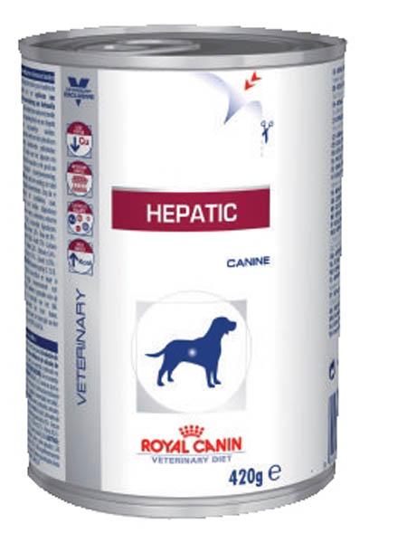 Консервы Royal Canin Vet Hepatic, для собак при заболеваниях печени, 420 г000083Питомцы с заболеваниями печени нуждаются в особом питании. Новая диета создана специально для собак, страдающих от заболеваний печени, и входящие в состав корма вещества идеально подобраны и сбалансированы. В этом корме находятся все необходимые элементы, которые укрепят иммунитет вашего питомца и наполнят его жизненной энергией. Кроме того, корм обладает притягательным вкусом, который доставит удовольствие даже самому избирательному гурману. Перед тем, как перевести собаку на такое питание, обязательно проконсультируйтесь с ветеринаром.Состав: рис, кукуруза, кукурузная мука, мясо птицы, печень птицы, подсолнечное масло, дегидратированный яичный белок, растительная клетчатка, свекольный жом, минеральные вещества, каррагенан, таурин, L-карнитин, фруктоолигосахариды (ФОС), микроэлементы (в т. ч. в хелатной форме), экстракт бархатцев прямостоячих (источник лютеина), витамины.Товар сертифицирован.