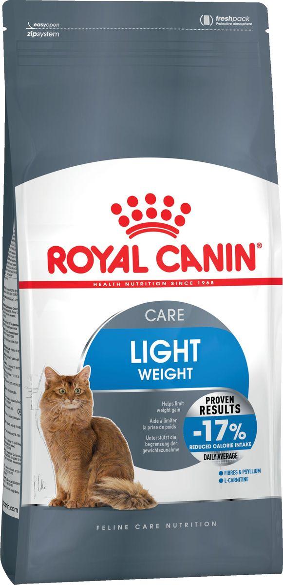 Корм сухой Royal Canin Light Weight Care, для взрослых кошек, в целях профилактики избыточного веса, 3,5 кг корм сухой royal canin mini light weight care для взрослых собак склонных к ожирению 2 кг